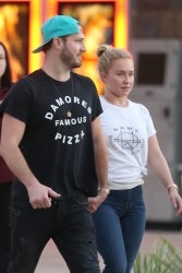 Hayden Panettiere Out in St. Augustine, Florida - 10/21/18