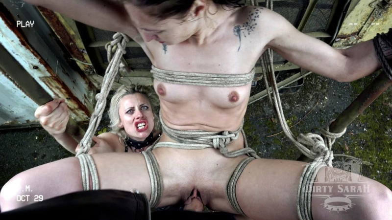 Sexy Bitch in Ropes - Dirty Sarah 3 part 2 NEW!!! EXCLUSIVE!!! [UltraHD/4K 2160P]
