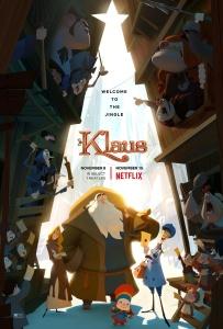Klaus 2019 720p English+Hindi HDRip x264 ESubsMB