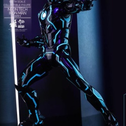 "Iron Man 2 - Mark IV Neon Tech ""Toy Flair Exclusive 2018"" 1/6 (Hot Toys) 4sP3czcs_t"