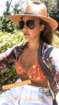 Jessica Alba rides a bike in top bikini 5/7/2018 mO7AiUT5_t