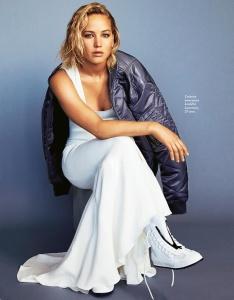 Jennifer Lawrence -               Grazia Magazine (Italy) February 22nd 2018.