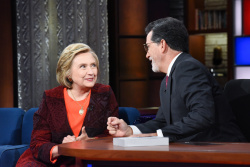 Hillary Clinton - The Late Show with Stephen Colbert: September 21st 2018