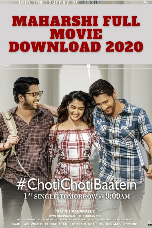 Maharshi Full Movie Download Movierulz 2020