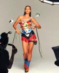 Irina Shayk - Catwalk Photoshoot BTS 3/6/2019