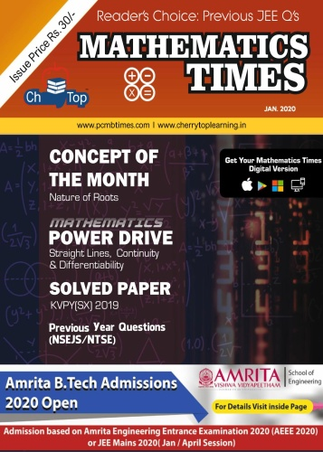 Mathematics Times - January (2020)
