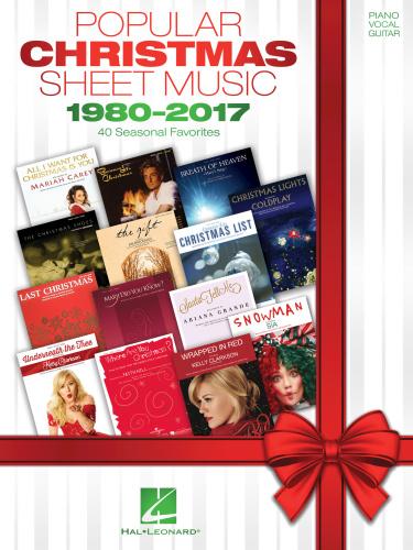 Hal Leonard Popular Christmas Sheet Music 40 Seasonal Favorites 2018 R 1980 (2017)