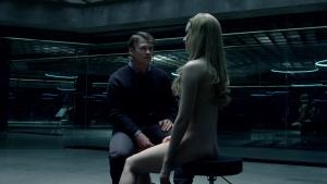 Angela Sarafyan / Evan Rachel Wood / Westworld S01Ep01 / topless / (US 2016) BQUJdTnT_t