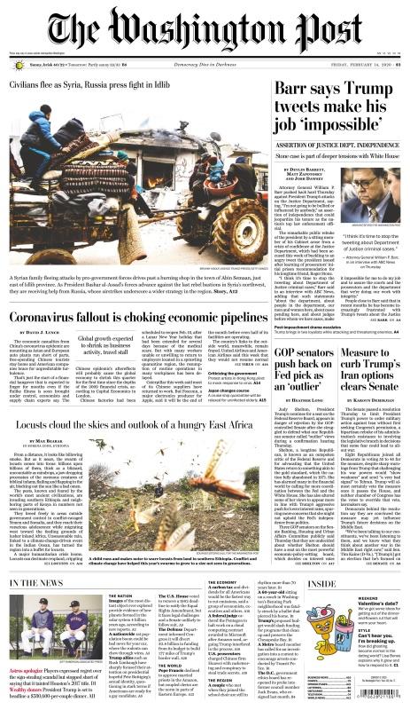 The Washington Post - 14 02 (2020)