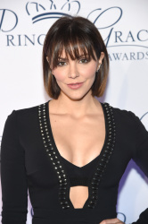 Katharine McPhee at the 2018 Princess Grace Awards Gala in New York City - 10/16/18