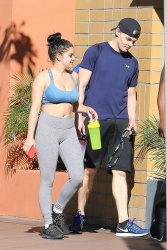 Ariel Winter at a Gym in Los Angeles - 11/25/17