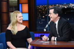 Amy Schumer - The Late Show with Stephen Colbert: April 9th 2018