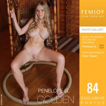 [Femjoy.com] 2020.11.28 Penelope G - Golden [Glamour] [5000x3334, 84 photos]