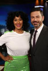 Tracee Ellis Ross - Jimmy Kimmel Live: November 16th 2017