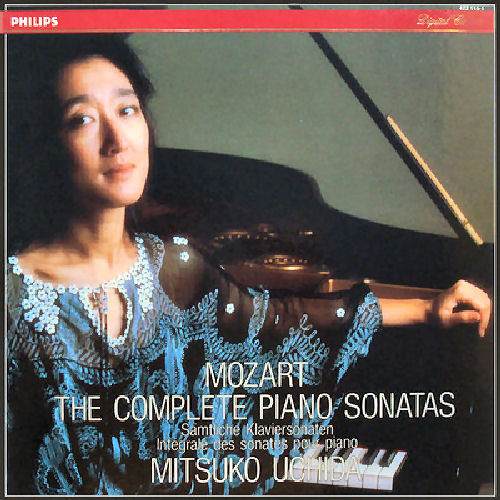 Mozart   The Piano Sonatas   Mitsuko Uchida (6CDs)