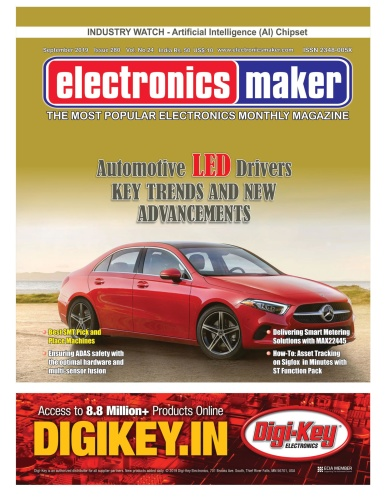 Electronics Maker - September (2019)