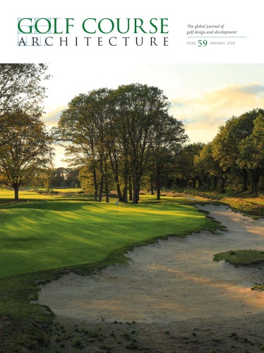 Golf Course Architecture - Issue 59 - January (2020)