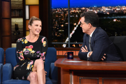 Betty Gilpin - The Late Show with Stephen Colbert: June 15th 2018