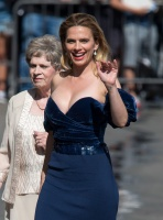 Hayley Atwell - arriving at Jimmy Kimmel Live in LA 7/30/18
