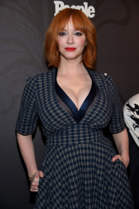 Christina Hendricks - Entertainment Weekly & People New York Upfronts Party 2018 (5/14/18)