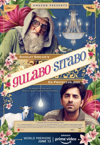 Gulabo Sitabo (2020) 720p HDRip x264 AAC 5 1 MSubs-TeamTT