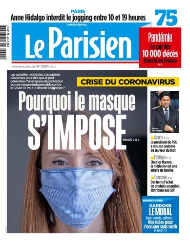Le Parisien April 08 (2020)