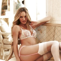 Candice Swanepoel in Stockings Collection
