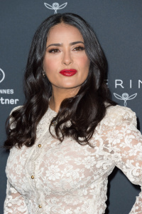 Salma Hayek - Kering Women in Motion Photocall At 71st Cannes Film Festival (5/13/18)