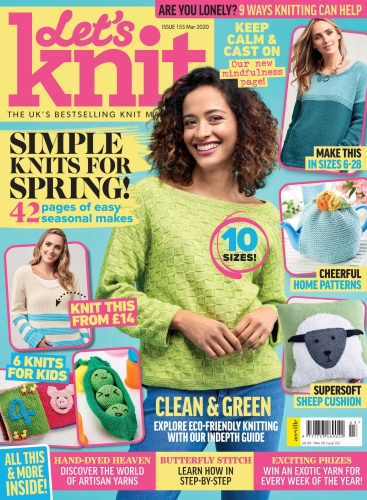 Let ' s Knit - Issue 155 - March (2020)