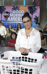 Jenni Farley aka JWoww - Good Morning America: March 27th 2018