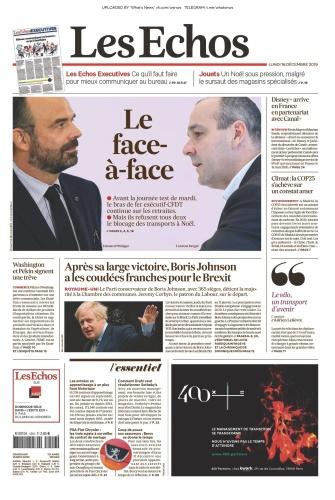 Les Echos - 16 12 (2019)
