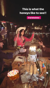 Ariel Winter - Birthday Cowgirl Look 2/2/2020