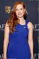 """Jessica Chastain - """"Molly's Game"""" BAFTA screening in NYC 11/18/17"""