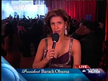 HODA KOTB *cleavage* - 2009 January 20, BET Inaugural Ball, Washington DC