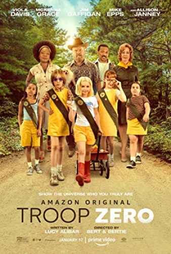 Troop Zero 2020 720p 10bit AMZN WEBRip x265 HEVC Hindi English AAC 5 1 ESub -
