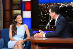 Alexandria Ocasio-Cortez - The Late Show with Stephen Colbert: June 28th 2018