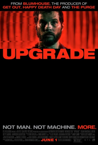 Upgrade (2018) 1080p BluRay x264 DD5 1 [Dual Audio][Hindi+English]