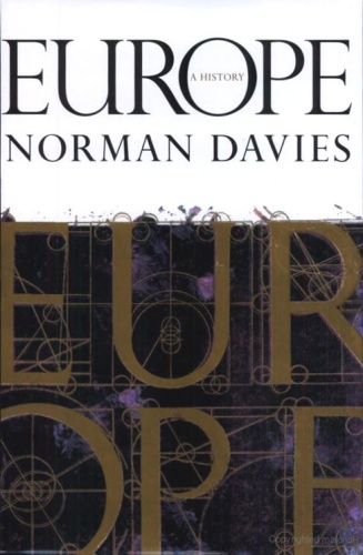 Europe A History   Norman Davies