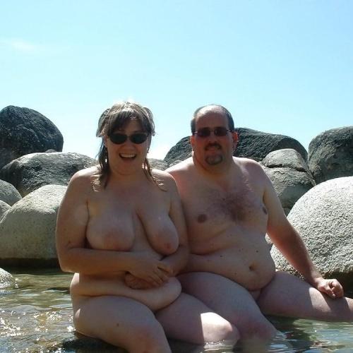 Nude beach nude people