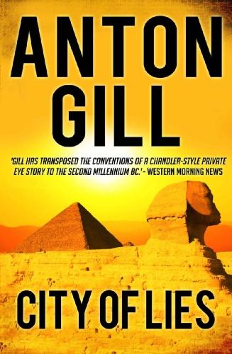 City of Lies   Anton Gill