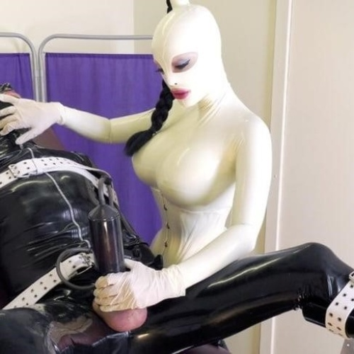 Porn latex lucy