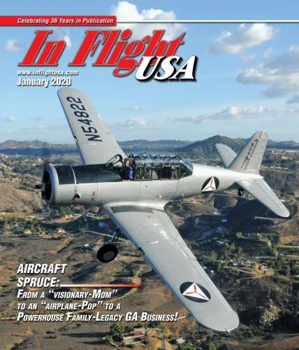 In Flight USA - January 2020