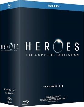 Heroes - Stagioni 01-04 (2006-2010) [17-Blu-Ray] Full Blu ray AVC\VC-1 ITA DTS 2.0 ENG DTS-HD MA 5.1 MULTI