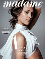 Alicia Vikander -          Madame Figaro Magazine (France) March 2018.