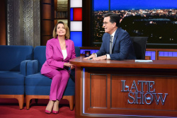 Nancy Pelosi - The Late Show with Stephen Colbert: October 30th 2018