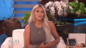 "Kim Kardashian - The Ellen DeGeneres Show S15E52 ""cleavage"" (2017) 720p HDTV"
