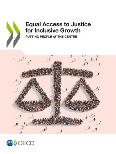 Equal Access to Justice for Inclusive Growth