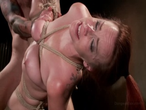 Hot And Tied Busty Bella Rossi Is Bound And Fucked Bella Rossi Christian Wilde - BDSM, Punishment, Bondage