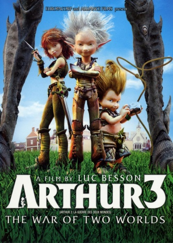 Arthur 3 - The War of the Two Worlds (2010) 720p BluRay x264 ESubs [Dual Audio] [Hindi+English]  ...