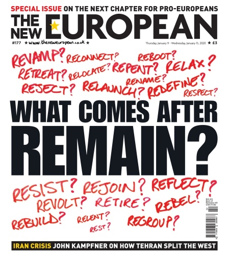 The New European  09 January (2020)
